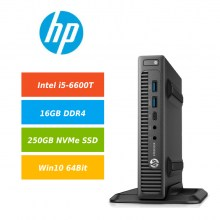 HP-800-G2-DM-i5-6600T-16GB-DDR4-250GB-Samsung-970-EVO-Plus-NVMe-SSD