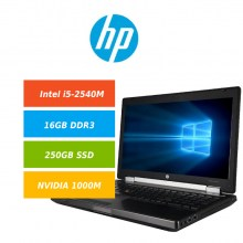 HP-EliteBook-8560w-i5-2540M-16GB-250GB-SSD-Samsung-EVO-850-NVIDIA-Quadro-1000M-Win10