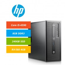 HP-G1-600-TWR-i5-4590-8GB-240GB-SSD-Gigabyte-RX560-4GB-Win10